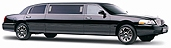 6 pass NY stretch limousines - black