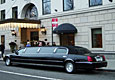 8 pass Lincoln Stretch Limousine-black